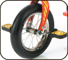Tandem Tricycle Direct Drive Front Wheel