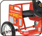 Tandem Tricycle Enclosed Passenger Seat